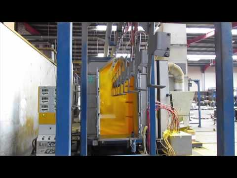 B&P Fabrication's Pre-treatment and Powder Coating Plant