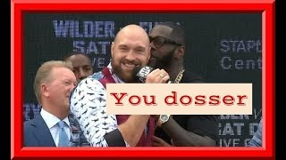 Tyson Fury Trash Talk King