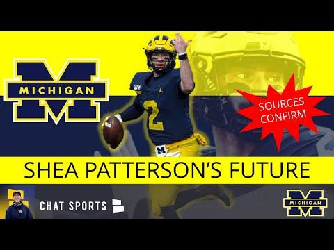 Michigan Football Report: Rumors On Shea Patterson's Future Are Confirmed + Ceasar Ruiz & Carlo Kemp