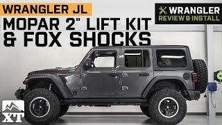 Jeep Lift Kits >> Mopar 2 In Lift Kit W Fox Shocks 18 20 3 6l Jeep Wrangler Jl 4 Door