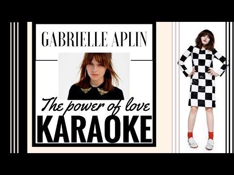 Gabrielle Aplin - The power of love - Karaoke