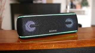 Sony SRS-XB41 Portable Bluetooth Speaker hands-on