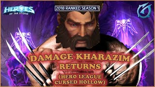Grubby | Heroes of the Storm - Damage Kharazim Returns - 2018 S1 - Cursed Hollow