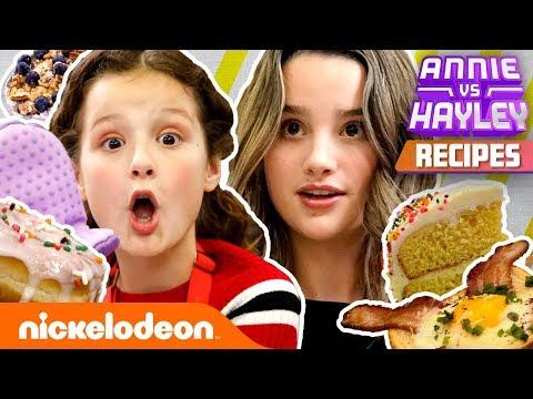 How to BAKE Annie & Hayley LeBlanc Recipes! 🍰 Annie vs. Hayley | Nick