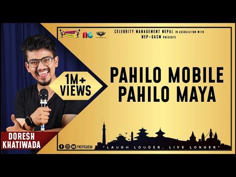 Pahilo Mobile Pahilo Maya | Nepali Stand-up Comedy | Doresh