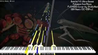 MIDI DL】Pokemon Sun/Moon - Battle! VS Kahuna - GBA-Style Remaster