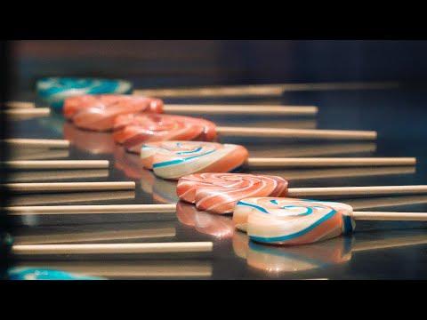 Handmade Candy (Lollipop) Making in Japan∥手作りペロペロキャンディー ∥ Japanese Street Food