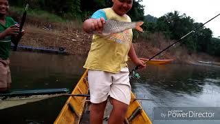 preview picture of video 'ตกปลาชอนเขื่อนบางลาง'