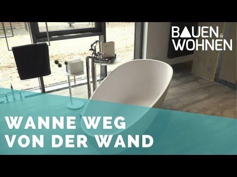 Badezimmer planen: freistehende Badewannen - Mittelpunkt im Badezimmer