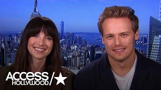 Access Hollywood - Sam Heughan & Caitriona Balfe- Season 3