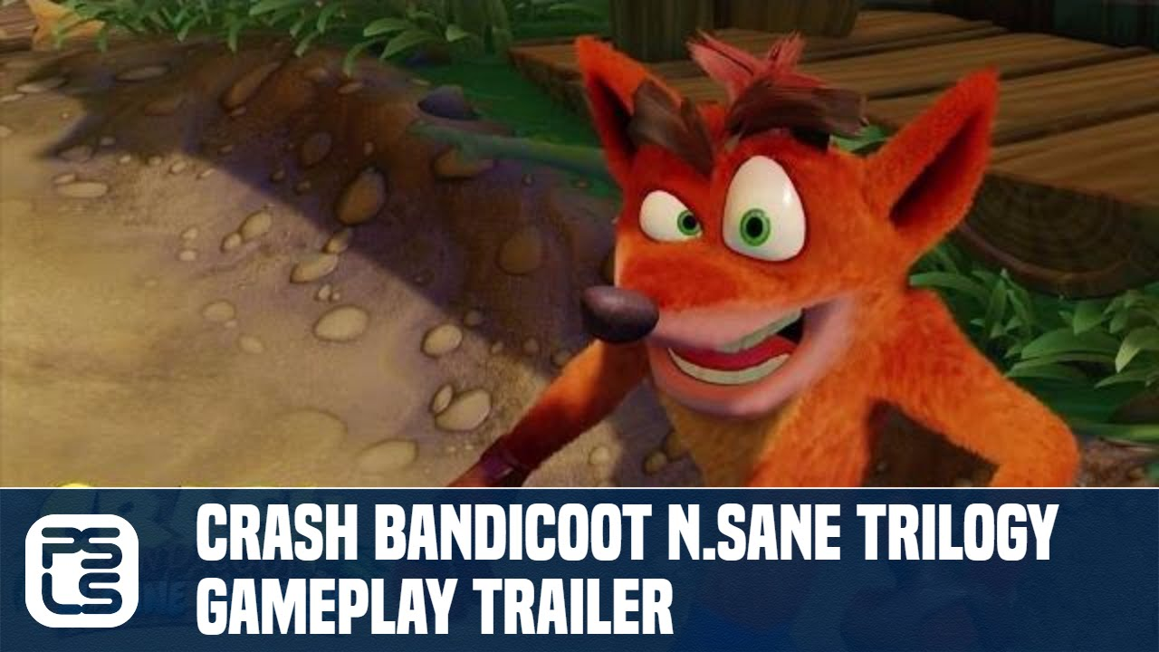Trailer di Crash Bandicoot: N-Sane Trilogy