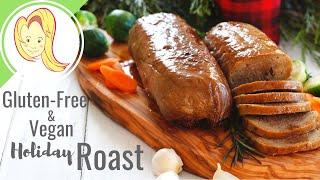 Gluten Free Vegan Holiday Mushroom Roast