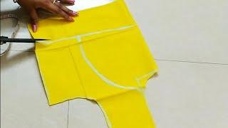 """34""""size katori blouse cutting and stitching"""