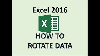 Excel 2016 - Rotate Text - Vertical Cell Rotation - How to Write Cells Vertically in Microsoft Table
