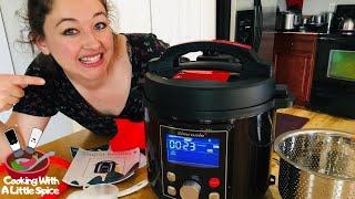 Simfonio Pressure Cooker Review | Frozen Chicken Legs Recipe