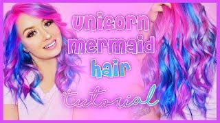 Unicorn Mermaid Hair!