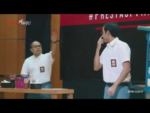 PRESTASI TANPA KORUPSI FULL. Kerennnn... 3 Menteri Jokowi Maen Lenong