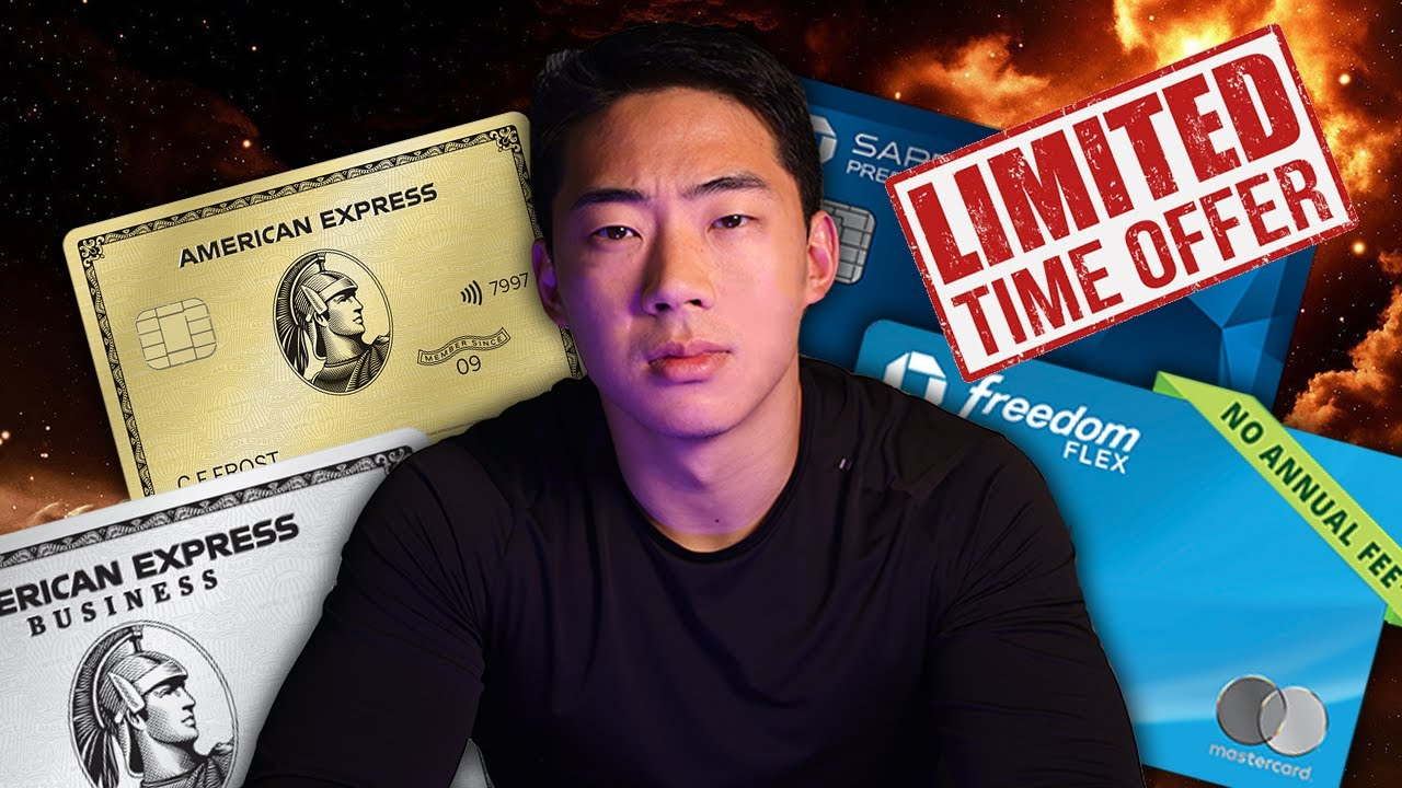 5 MUST HAVE CREDIT CARDS YOU REQUIRED TODAY thumbnail