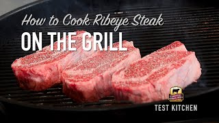 How to Cook Ribeye Steak on the Grill
