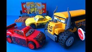 Тачки 3 Собираем Лего Мультики про Машинки Все серии Cars 3 Lego #1