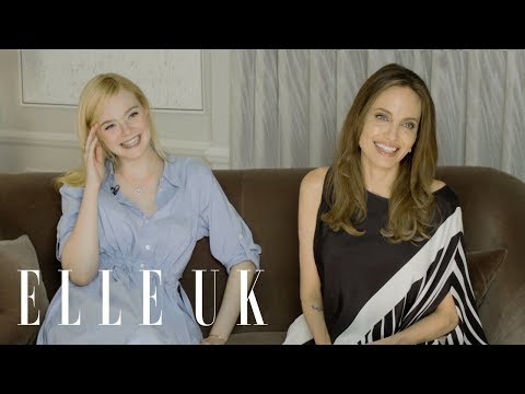 Angelina Jolie & Elle Fanning on wicked women, role models and the real Angelina