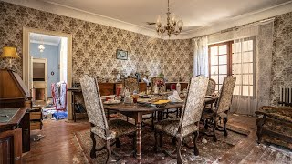 SECLUDED & FORGOTTEN   Abandoned French Country MANSION of the Pirette Family