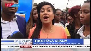 Esther Passaris awakabidhi Vijana Troli kwa minajili ya kuwasaidia kujimudu
