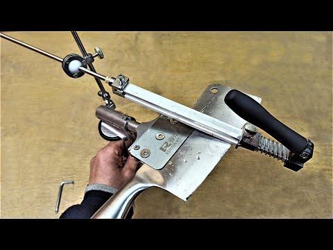 Проще НЕ бывает! САМАЯ ПРОСТАЯ ТОЧИЛКА для ножей! The simplest knife sharpener!