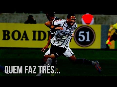 #AjudaLuciano - Quem faz três gols pede música!
