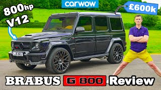 [carwow] Brabus G800 review: 800hp V12 review + 0-60mph test!