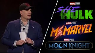 VIDEO: Kevin Feige Reveals Upcoming Marvel Shows at D23
