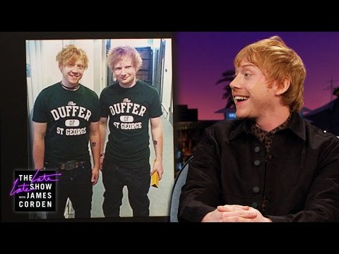 Is This Rupert Grint or Ed Sheeran?