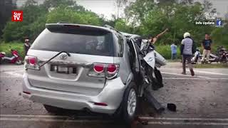 Former Batang Kali assemblyman injured, two killed in accident