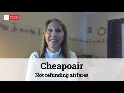CheapOair - Not refunding airfares