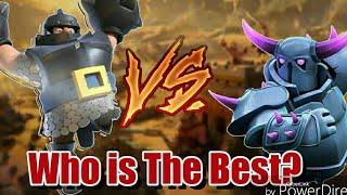 MEGAKNIGHT VS PEKKA |Who is the best?#2| Clash Royale 2018|