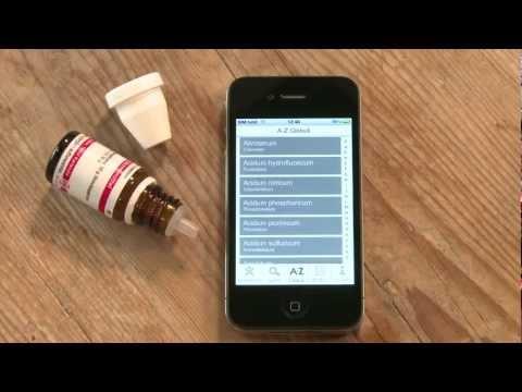 iPhone App Homöopathie von GU