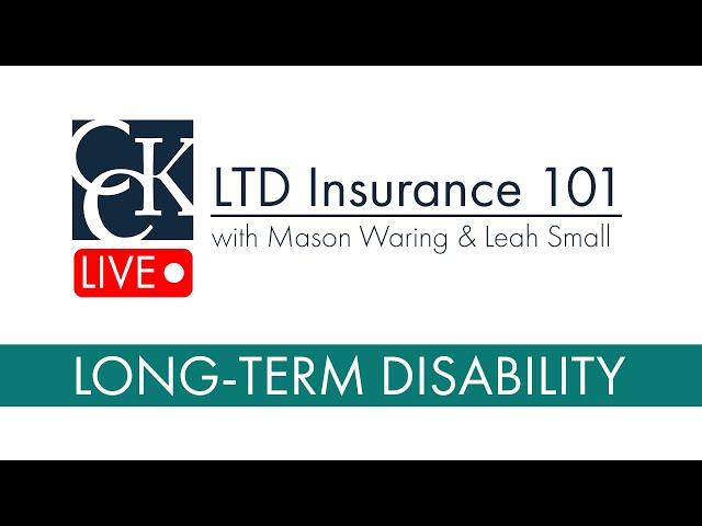 Long-Term Disability Insurance 101