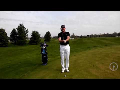 Execute a Pitch Shot from a Tight Lie