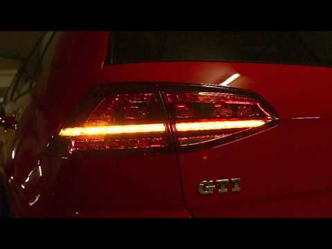 Semi Dynamische Blinker VW Golf 7 - semi dynamic blinker VW Golf VII