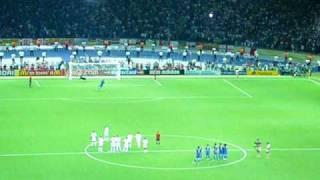 06ワールドカップ決勝イタリア対フランスPK戦デ・ロッシ35