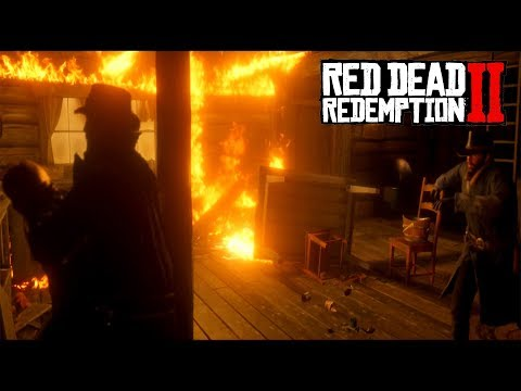 Red Dead Redemption 2 - We Burn Down A House