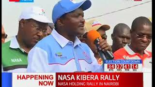 Kalonzo Musyoka narrates how IEBC Chairman feared meeting with NASA co-principals