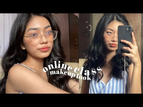 ONLINE CLASS MAKEUP LOOK (for eyeglass wearerz)