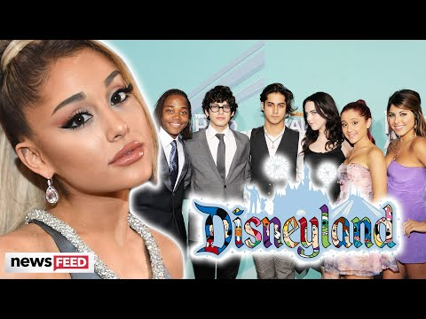 Ariana Grande REUNITES With 'Victorious' Co-Star At Disneyland!