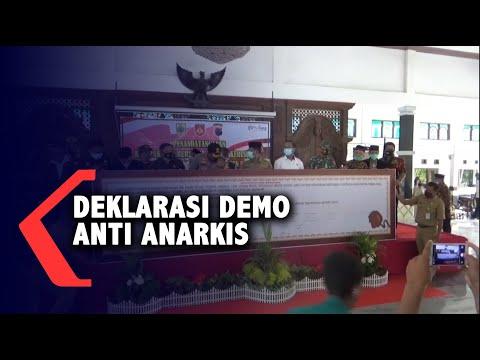 warga pemalang deklarasi anti demo anarkis