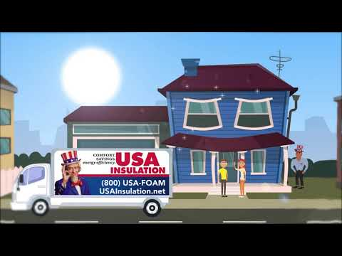 USA Insulation Animated Commercial