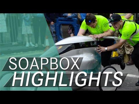 F1 SOAPBOX DERBY ACTION | Best of Brackley 2016
