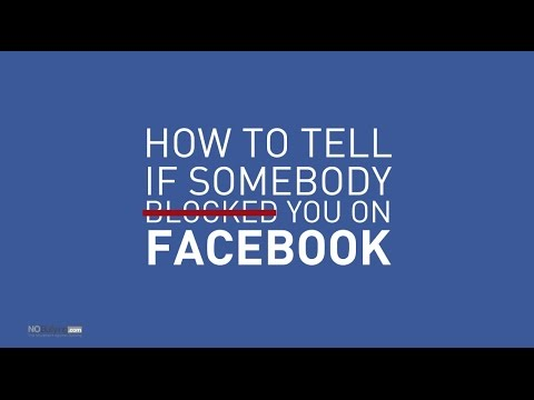 How to tell if someone blocked you on Facebook - nobullying.com