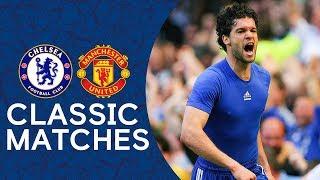 Chelsea 2-1 Man Utd | Ballack Blows Title Race Wide Open | Classic Premier League Highlights 2007/08