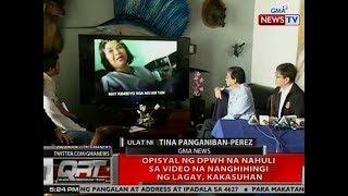 QRT: Opisyal ng DPWH na nahuli sa video na nanghihingi ng lagay, kakasuhan